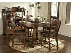 dining rooms, woodbridge leg table, dining rooms | havertys
