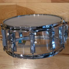 Ludwig 6.5x14 Vistalite Clear Snare Drum
