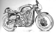 #graphicdesign #motorcycles #motos | caferacerpasion.com