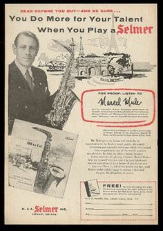 Electronics, Cars, Fashion, Collectibles, Coupons and Selmer Saxophone, Saxophone Instrument, Sax Man, Make A Joyful Noise, Instruments, French Horn, Big Love, Print Ads, Psalms