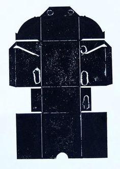 """SILVIO ZESCH . Arbeit aus der Serie """"BLACK BOXES"""" . Materialdrucke, 50 x 40 cm"""