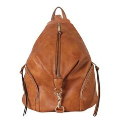 19e187100b Shop for Diophy Zipper Pocket Fashion Backpack. Get free shipping at  Overstock.com -. Brown Leather SatchelLeather Satchel HandbagsPu ...