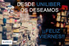 ¡¡#FelizViernes 21 julio 2017!!🎉Aprovéchalo con una de las recomendaciones de #libros de nuestras librerías asociadas https://www.uniliber.com/recomendados/