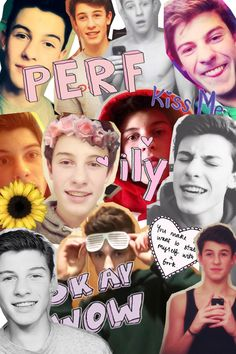 shawn mendes collage wallpaper Buscar con Google