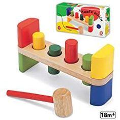 Wooden Hammer Bench Developmental Coordination. >>> Want to know more, click on the image. We are a participant in the Amazon Services LLC Associates Program, an affiliate advertising program designed to provide a means for us to earn fees by linking to Amazon.com and affiliated sites.