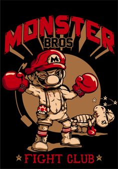 Monster Bros by Marrufo y As., via Behance