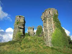 Northburg Castle, Greencastle, Donegal, 1305,  Ireland