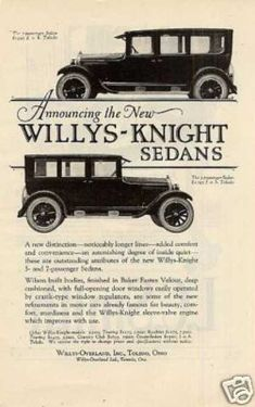 vintage car ads from the 1920s | Car Advertisements of the 1920s