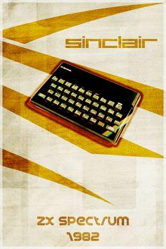 ZX Spectrum /by Euskera #deviantart #retro #poster