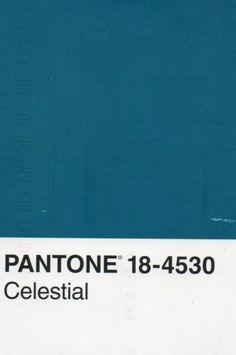 pantone bleu canard code celestial