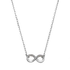 from Brilliant Earth  Infinity necklace   <~~~The ONLY infinite thing I believe in thess days is my love of jewelry. Lol!