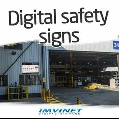 Digital Signage presents a cost-effective and attractive alternative to traditional static signs. (Alerts important information weather information etc.). So it is perfect to offer information of great importance as safety communications in factories and companies. We know how to make a circuit successful if you want to know more contact us via e-mail at info@imvinet.com or visit our website www.imvinet.com #digitalboards #digital ##digitalboards #digital #digitalsignage #menuboards…