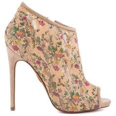 Betsey Johnson - Malene - Floral Multi - HeelsFans.com