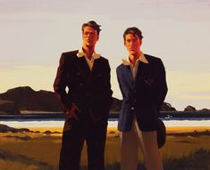 Jack Vettriano On the Border oil painting for sale