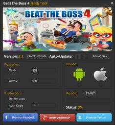 Beat the Bos 4 Hack Cheats Tool offers you to make an unhindered assets. You may get every one of the assets for nothing out of pocket in the general game, ther Beat The Boss 4, Game Presents, Free Beats, Game Resources, Game Update, Test Card, Hack Online, Free Games, Lorem Ipsum