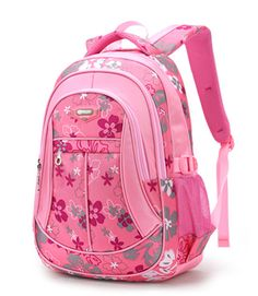 Visit to Buy  New Floral Printing Children School Bags Backpack For  Teenage Girls Boys Teenagers Trendy kids Book Bag Student Satchel mochilas 3a02577d1b0ab