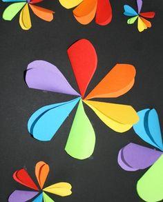 colour wheel flowers