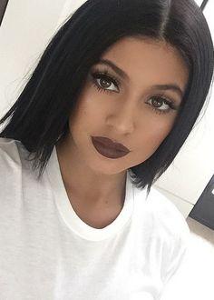 Brown lips #KylieJenner @danilove_xo
