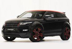 my Next Np......range rover evoque black red - Google Search
