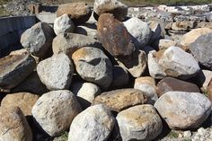 rocks and boulders Rocky Creek, Before The Flood, Bouldering, Rocks, Google Search, Inspiration, Biblical Inspiration, Stones, Inhalation