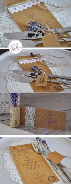 Menükarten Hochzeit Kraftpapier Wedding, Kraft Paper, Thanks Card, Other, Valentines Day Weddings, Weddings, Marriage, Chartreuse Wedding