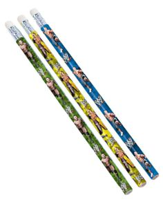 WWE Pencil Party Favours