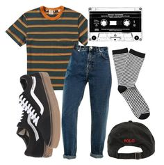 """don't tell me what i wanna hear"" by qimmig on Polyvore featuring Levi's, Vans, Ralph Lauren and Witchery"