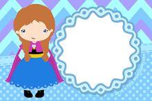 moldura-grátis-infantis-frozen-Anna