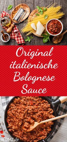 Du hast Lust auf Nudeln und suchst ein Bolognese Sauce Rezept? Dann bist du hier genau richtig. Ich habe für dich das italienische Original Rezept für eine tolle Bolognese. Perfekt als Nudelsauce oder aber auch als Basis für eine italienische Lasagne. Toll fürs Abendessen, aber auch für eine italienische Mottoparty das perfekte Gericht. #bolognese #rezept #original #italienisch #italien #kochen