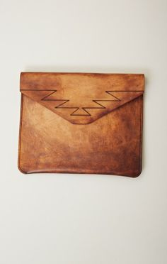 torchlight LEATHER CLUTCH
