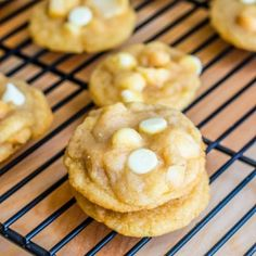 White Chocolate Cookies - Super-chunk White Chocolate Macadamia Nut Cookies using a fail-proof, go-to chewy cookie recipe.
