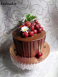 Ovocná torta s čokoládou mňamka | Tortyodmamy.sk