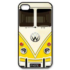 Funny Cute VW Volkswagen Van  iPhone 4/4s Case by SuitUpCraft, $14.99