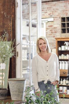 A New Space for Love Grows Wild Market Antique French Doors, Candle Store, Kitchen Display, News Space, Minwax, Tasting Room, Retail Shop, Antique Stores, Best Couple