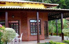 Casa Ecológica construída com Tijolos Ecológicos Modulares