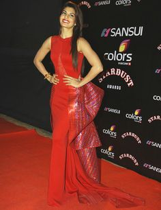 Jacqueline Fernandes @the 2014 #stardust awards