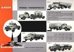 1957  Csepel D450N Trucks, Hungary, Cars, Vehicles, Automobile, Autos, Truck, Car, Car
