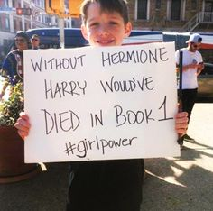 Don't know whether to save this to my HP or feminism board....guess it'll have to be both:)