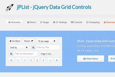 Гибкий jQuery плагин для сортировки и нумерации страниц - http://w3talks.org/inspiration/resources/5176