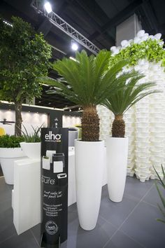 Spoga+Gafa - Cologne Germany I flower pots Soft Round Extreme by Elho
