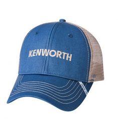 2e00b20620d72 Kenworth Slate Blue   Tan Mesh SnapBack Cap C112ENQLY0X