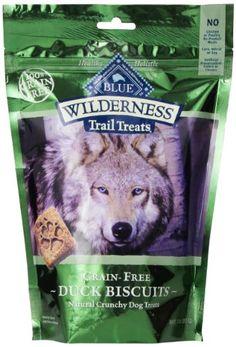 Blue Buffalo Wilderness Trail Treats Grain Free Duck Dog Biscuits, 10-ounce. DogsHelper.com - DogsHelper-Store - Click and read these content rich dog care articles.
