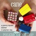 Polymer Clay: The Afghan Cane
