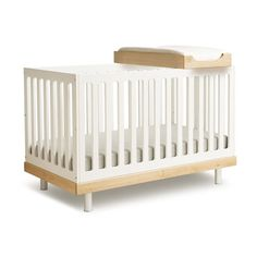 Crib converts to toddler bed