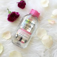 The Garnier Micellar Cleansing Water (from £1.99) is an absolute staple that removes makeup gently. | 19 Cheap Skincare Products That Will Transform Your Skin