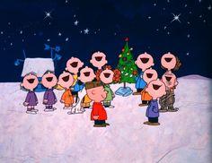 Merry Christmas, Charlie Brown!  Hark the Herald Angels Sing....♪ ♫
