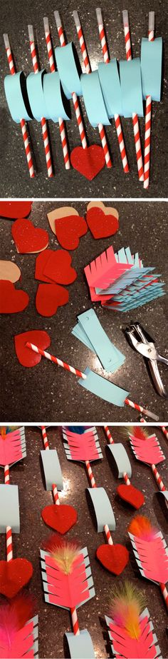 :: kraftykym :: DIY valentines : arrows