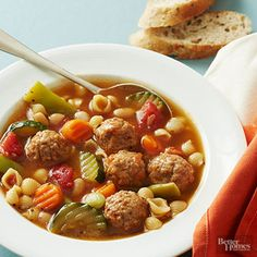 Make this quick soup vegetarian by substituting vegetable broth for the chicken broth.