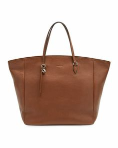 Bree Leather Tote, Brown by Gucci at Neiman Marcus.
