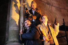 Gorka Otxoa, Carlos Areces y Secun de la Rosa comparten protagonismo en los lobos de Arga